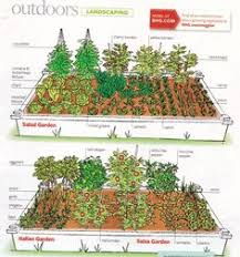 garden layout if we had the room gardening pinterest
