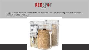 oggi kitchen canisters oggi airtight canister oggi air lox airtight canister food storage