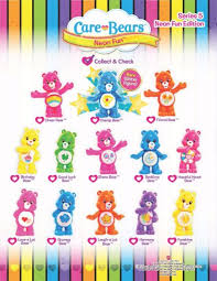 care bears blind packcollectible mini figures funtastic au