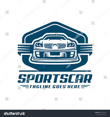 logo porsche vector ready use template sports car logo stock vector 763127050