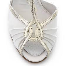 wedding shoes toe mimi ivory satin t bar peep toe wedding shoes by
