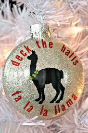 fa la la llama ornament