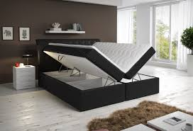 hochglanz schlafzimmer schlafzimmer mit boxspringbett mit zwei bettkästen möbel für