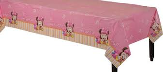 table covers for party 1st birthday minnie mouse table cover party city delaney s 1st