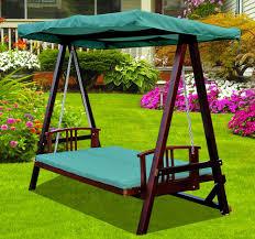 hammock bench 3 seater wooden garden swing chair seat hammock bench furniture