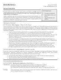 Law Enforcement Sample Resume by Image Result For Sample Resume For A New Police Officer Sample
