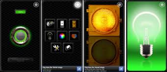 flashlight android flashlight app for android also has lights and warning lights