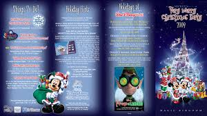 mickey s merry 2009 guide map photo 1 of 2