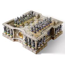 lord of the rings chess set uk deluxe middle earth board game