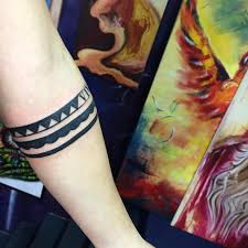 double solid armband tattoo meaning 1000 geometric tattoos ideas