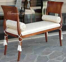 divanetti antichi panchette tappezzate sedie poltroncine divanetti