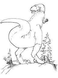 gorgosaurus tyrannosaurid theropod dinosaur coloring free