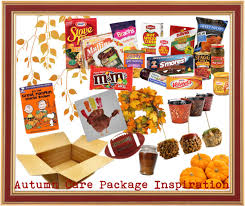care packages send your solider a bit of autumn