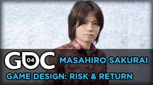 design hair game masahiro sakurai game design risk return youtube