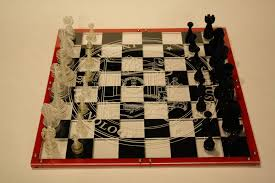 Futuristic Chess Set Custom Acrylic Chess Board 6 Steps With Pictures