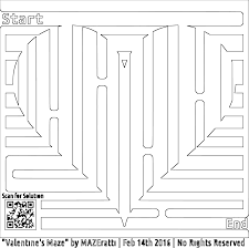 clipart valentine u0027s heart maze coloring page for grown ups