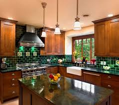 Arts And Crafts Kitchen Cabinets by Arts And Crafts Kitchen Ideas Kitchen Eclectic With Granite