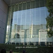 model house light curtain wall for glass curtain wall glass