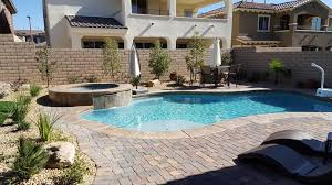 Backyard Landscaping Las Vegas Artificial Grass Ideas Pool Traditional With Backyard Las Vegas
