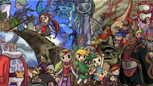 Wind Waker Map The Legend Of Zelda The Wind Waker 2003 2013 Gamecube Wii U
