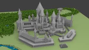 minecraft hogwarts castle schematics 11 best art ed castles