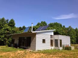 Prefab House by Off Grid Passive Solar Prefab House Muses On Hrvs Air Conditioning