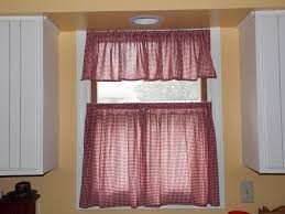 our eclectic life pretty quick sew yourself kitchen cafe curtains