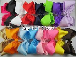 wholesale hair bows aliexpress buy myamy 20pcs 6 inches hair bows grosgrain