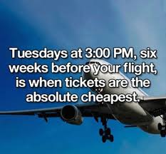 this is when you should buy airplane tickets for the cheapest