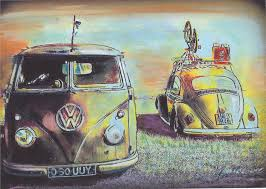 volkswagen bus art bus n bug vw split screen volkswagen camper van limited edition