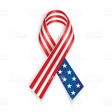 Usa Flag Vector American Flag Ribbon Stock Vector Art 479849036 Istock