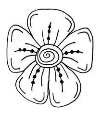 how to draw easy flowers for kids dentonjazz com dentonjazz com