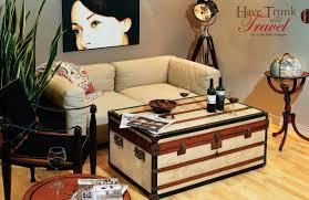 Wohnzimmertisch Kirschholz Tisch Truhe Couchtisch H 53 Authentic Models Möbel