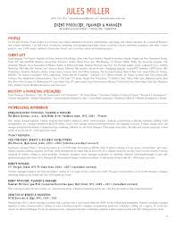 Freelance Resume Sample by Event Planner Resume 6 Special Event Coordinator Resign