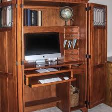 Locking Computer Armoire Find More Oak Computer Armoire For Sale At Up To 90