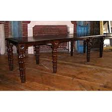 Gothic Dining Room Table by Antique Anglo Indian Gothic Revival Rosewood Long Table Eron