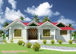 front elevation of single floor house kerala including designs
