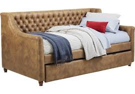 alena champagne 3 pc full daybed with trundle trundle beds colors