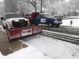 did pornhub actually plow snow in boston