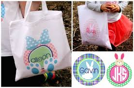 personalized easter personalized easter tote bags 7 95 from 18 50