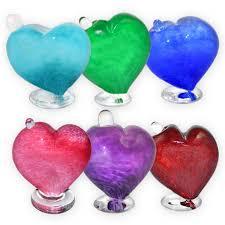 keepsake urns forever in my heart glass keepsake urn
