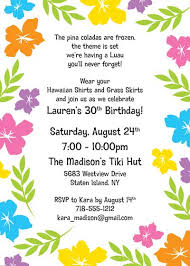 luau invitations a luau hibiscus party invitation invite your guests to a