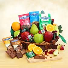 ghirardelli gift basket ghirardelli fruit celebration gift basket at gift baskets etc