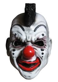 scary clown halloween mask clown masks