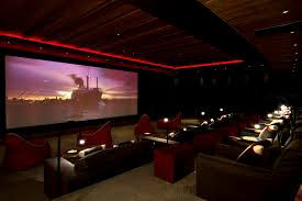 private cinema auditorium that can be transformed into a night