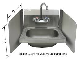 stainless steel hand sink wall mount ace hs 1615wg wall mount hand sink with faucet within proportions