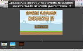 how to make doodle jump in gamesalad 2d platformer builder kit free gamesalad template
