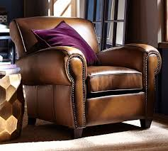 Pottery Barn Leather Chair 42 Best Chair Reclining Images On Pinterest Recliners Footrest