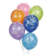 birthday balloons for him balloons and party supplies to decorate for birthdays and events
