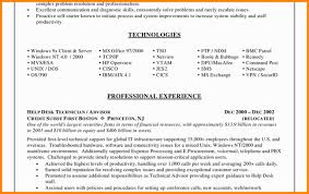 Help Desk Specialist Resume 8 It Support Specialist Resume Job Apply Form